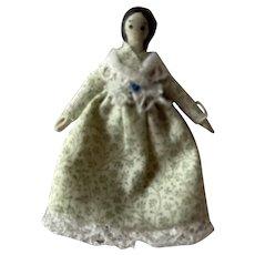 "Tiny Artist Made Doll 1 3/4"""