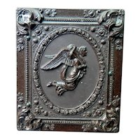 Ambrotype of Baby Gutta Percha Case Angel