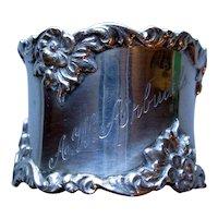 Gorham Sterling Napkin Ring Art Nouveau