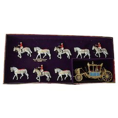 Queen Elizabeth II  State Coach Britains Set 1470, original box