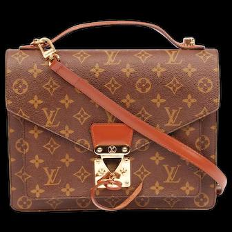 Louis Vuitton Monceau Monogram Canvas Cross Body 5804