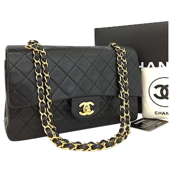 Chanel Classic Double Flap 25 Quilted Shoulder Bag 5817