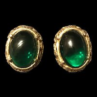 Vintage Signed Richelieu Clip On Earrings
