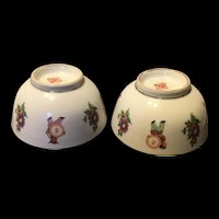 Vintage Chinese Culture Revolution Character Rice Bowl