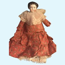 1860's Antique Porcelain Doll