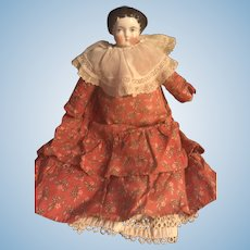 1860's Antique Porcelain Doll