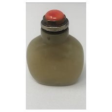 Chinese Old Jade Snuff Bottle