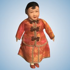 Vintage 1940's Chinese Lady Doll