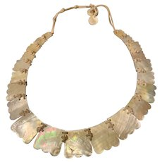 Victorian Mother Of Pearl Necklace