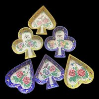 Awesome 1930's Chinese Cloisonné Enamel Candy Dishes