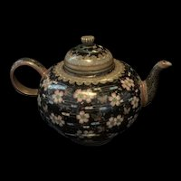 Antique Japanese 19th Century Meiji Period Cloisonné Teapot