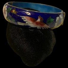 Fabulous Vintage Chinese Cloisonné Bracelet