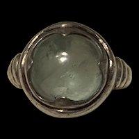 Stunning Vintage Sterling Silver Moonstone Ring