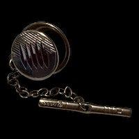 Gorgeous Sterling Silver Tie Tack - Birmingham England  Hallmarks - Circa 1935