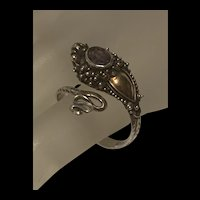 Gorgeous Sterling Silver Snake Ring