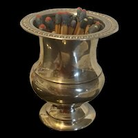 Gorgeous Vintage Sterling Silver Matches /Toothpick Holder