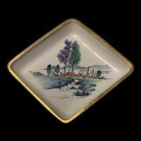 Vintage Chinese Cloisonné Enamel Dish