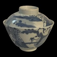 Fine Chinese Blue And White Porcelain Teacup Tea Cover Sauce