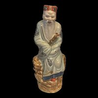 Antique 19th Chinese Export Porcelain Immortal Figure With Fully Hallmarks