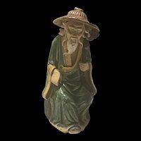 1920's Vintage Chinese Mudman Shekwan Figurine