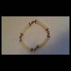 1970's Chinese shell bracelet