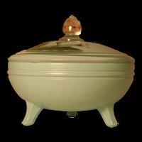 1930's Vintage Glass Kitchenware Pot