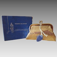Whiting and Davis Co. Mesh-Mates Silver Coin Purse