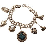 Native American Themed Charm Bracelet