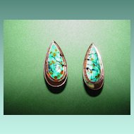 "Renoir ""Matisse"" Copper Earrings"
