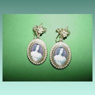 Beautiful Portrait Earrings