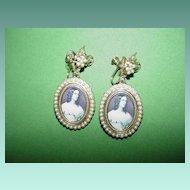 Beautiful Portrait Earrings