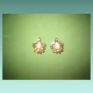 Vintage Saphiret Earrings