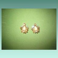 Vintage Saphiret Earrings