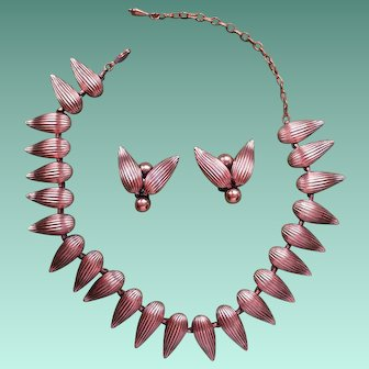Fabulous Renoir Copper Necklace Set!