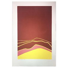 "Claude Dante Silkscreen, ""Eclipse"" (Ed.44/50)"