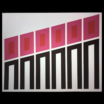 Rafael Bogarin Silkscreen, Untitled (Ed. 23/25)