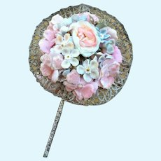 """Beautiful Antique FF Flower Posy for your French Fashion Doll or Bebe. 3"""""""