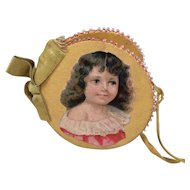 Pretty Antique Needle Case for Antique Doll Display.