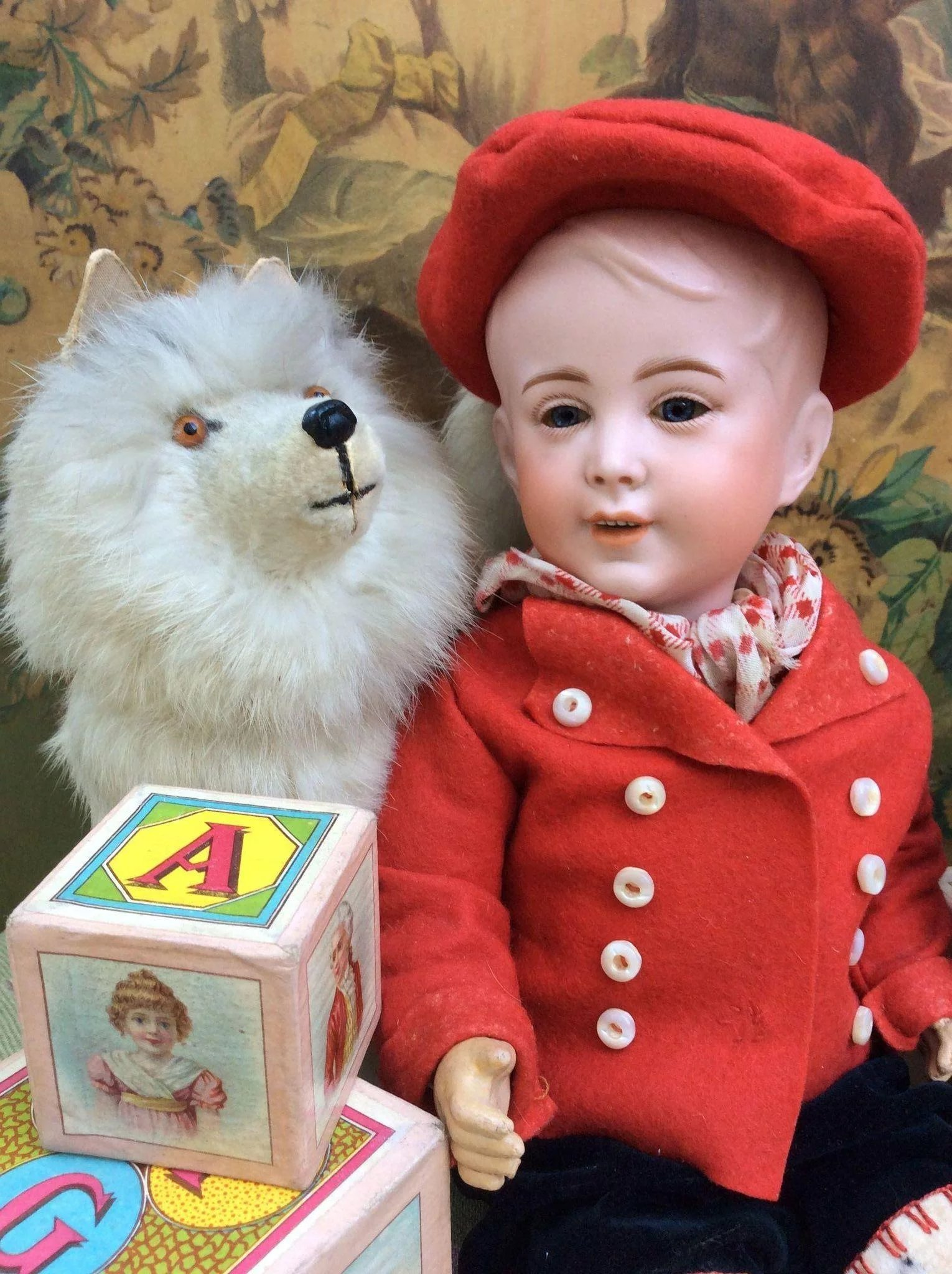 Charming Cabinet size S.F.B.J 237 Character BOY. 13.5 ...