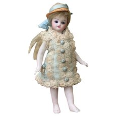 Beautiful French Barefoot Mignonette in All Original Clothing.