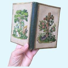 Early Needlpoint Aide Memoire. Circa 1780