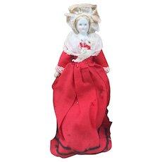 Antique Parian Dolls House Doll