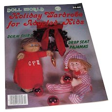 Doll World No. 3 Holiday Issue of l985