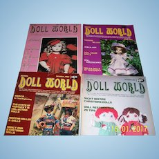 Doll World  issues from 1981