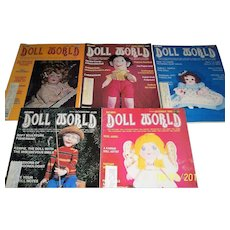 Doll World issues from 1980