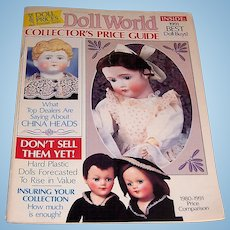 Premier issue of Doll World Collector's Price Guide vol. 1,no. 1 .for 1991.