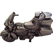 Vintage Harley Motorcycle Cigarette Lighter