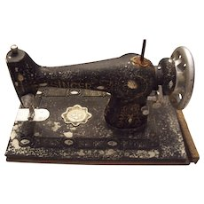 Vintage Sample Size of a Singer Sewing Machine