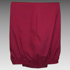 Alfred Dunner Vintage Ladies Deep Rose Pants Size 16P