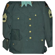 Mens Complete Army Uniform from the Korean Conflict